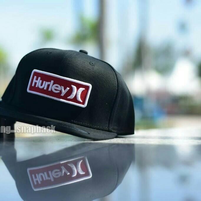 98caf2276f4 Review Topi Snapback Hurley Original Import Hat Dan Harga Terkini ...
