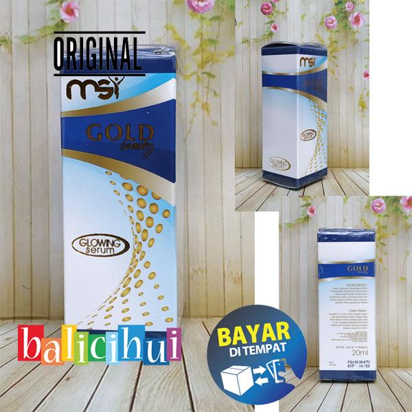 balicihui msi glowing serum / gold beauty serum 100% original msi
