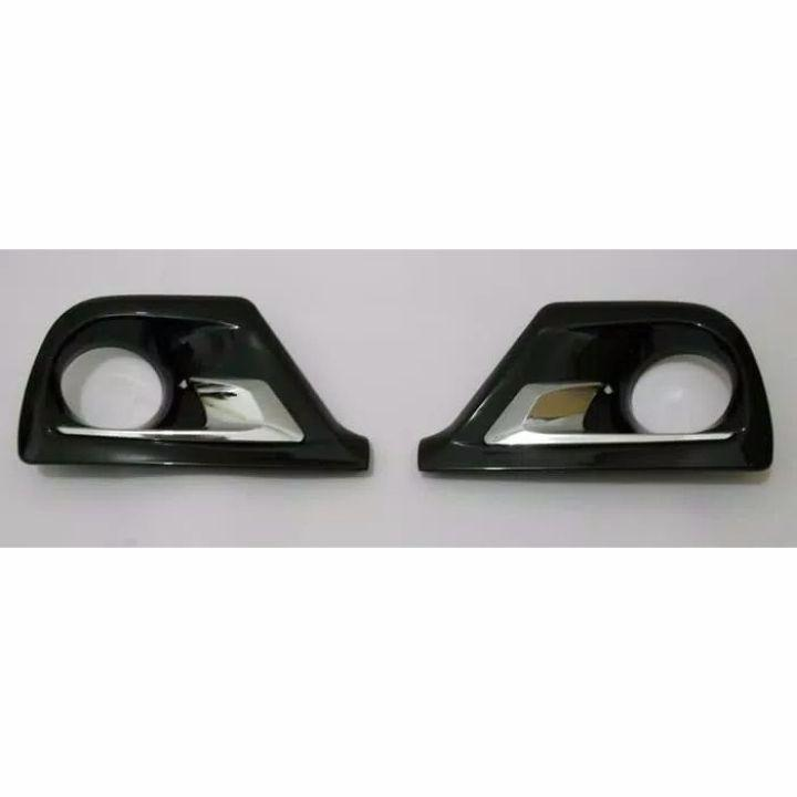 Garnish Ring Fog Lamp All New Avanza / Xenia Hitam