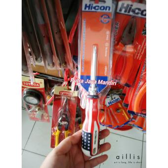 Hicon Obeng Bolak Balik Plus Minus Usa