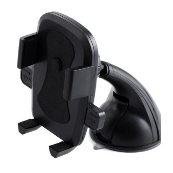 Icantiq Tatakan Hp Mobile Car Phone Holder Universal untuk Mobil 360 Rotation for Smartphone Model WN