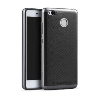 Ipaky Case Xiaomi Redmi 3 Pro Neo Hybrid Series - Black