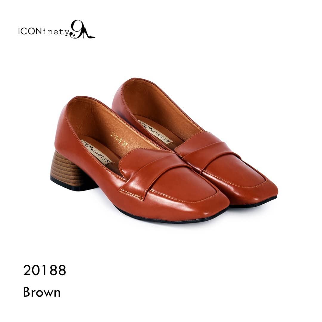 Detail Gambar ICONinety9- Pump's Shoes Chunky-20188 Terbaru