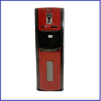 Miyako Dispenser Galon Bawah Hot&Normal WDP-200 Merah/Hitam BERLAKU HANYA JAKARTA BARAT UTARA