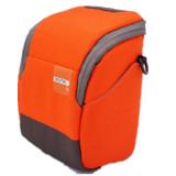 ... Orange Soft Camera Bag Case Pouch for Canon EOSM EOSM2 EOS M3 - 5