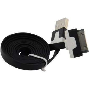 QC Cable Data Charging Charger Cable USB Flat 30pin For Apple iPhone 4/4s/