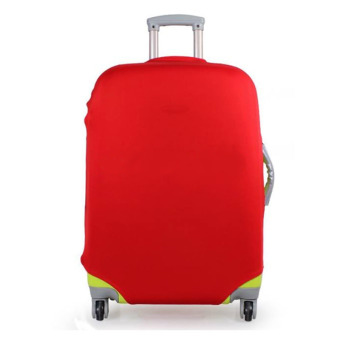 QC Luggage Cover Protector Elastic Suitcase/ Sarung koper Small for 18-22 inch -
