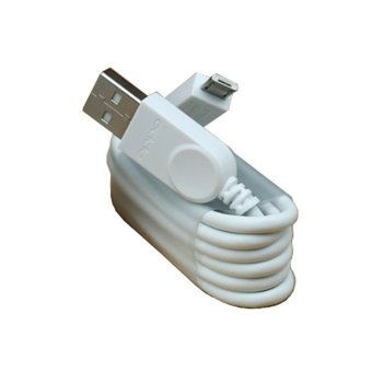 Oppo 100% Original Kabel Data Oppo Ori Cable Data Oppo Micro Usb  Kabel Oppo bisa buat charger dan transfer data Cable oppo - White