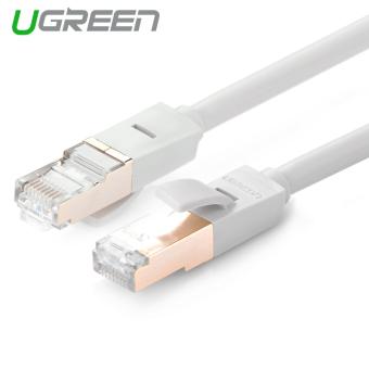 UGREEN 0.5 M Kecepatan Tinggi Kucing 7 RJ45 Ethernet Jaringan LAN Kabel (abu-abu
