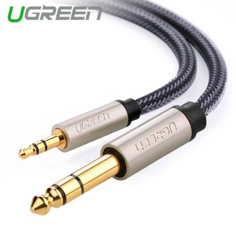 UGREEN 3.5 mm ke 6.35 mm jack adaptor kabel audio (1 m)
