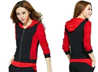 Vrichel Collection - jaket wanita (red)