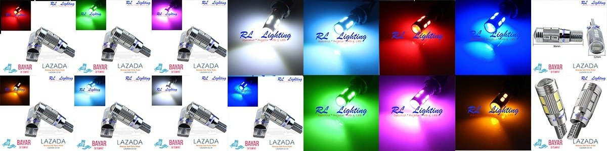 1bh Led T10 Senja 6Led Gel Jelly Silicone Super Bright .