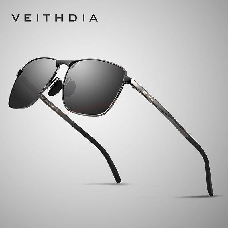 ... VEITHDIA Aluminium Laki laki Matahari Kacamata Terpolarisasi Cermin Mengemudi Luar Ruangan Kacamata Aksesoris Kacamata Hitam For