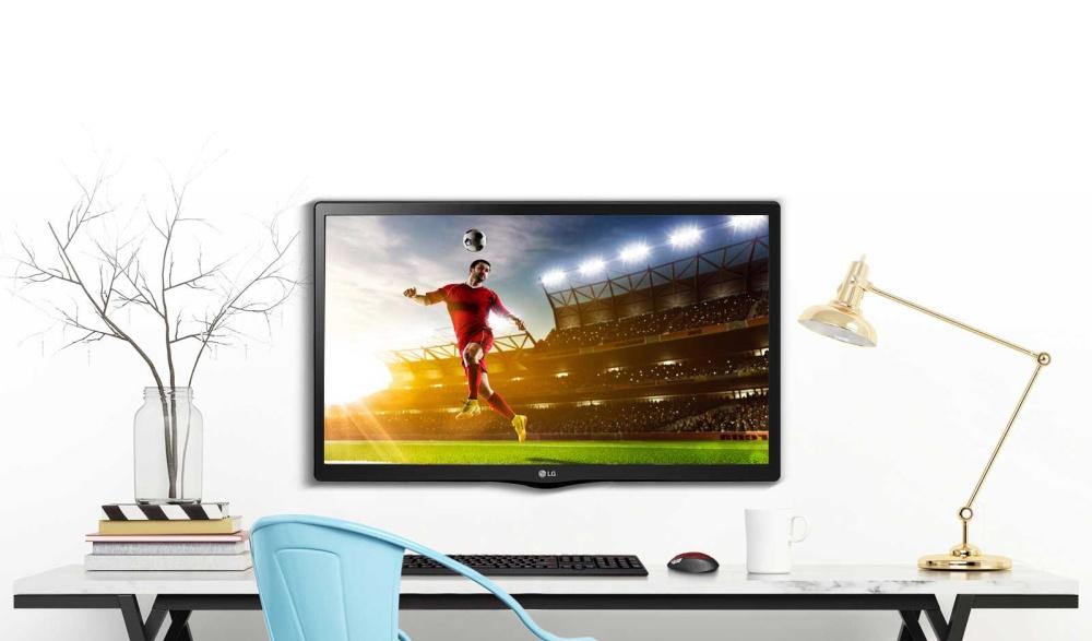 LG 24MT48AF hadir dengan fitur USB AutoRun yang dapat menampilkan konten secepat Anda menghidupkan monitor dengan menghubungkannya ke USB.