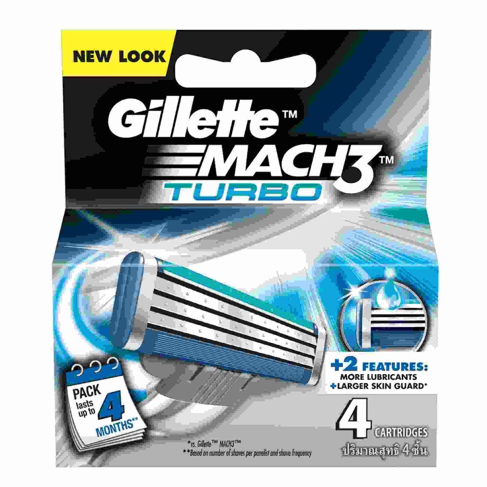 Gillette Cartridge Mach 3 Turbo