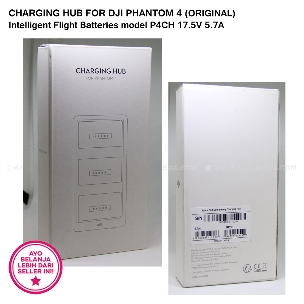 Charging Hub For Dji Phantom 4 Original Intelligent Flight Batteries Battery Video Ulasan