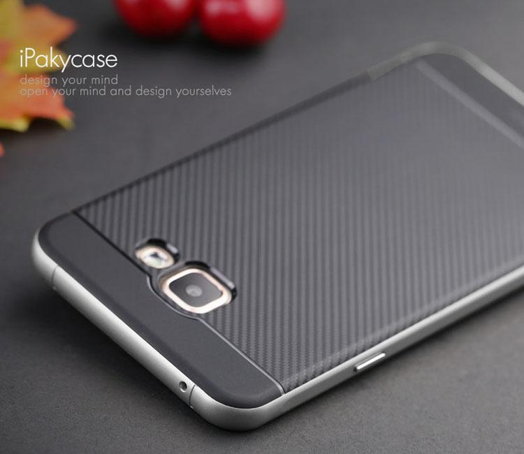 ... IPAKY Hybrid PC and TPU Case for Samsung Galaxy A7 SM-A710F (2016) ...