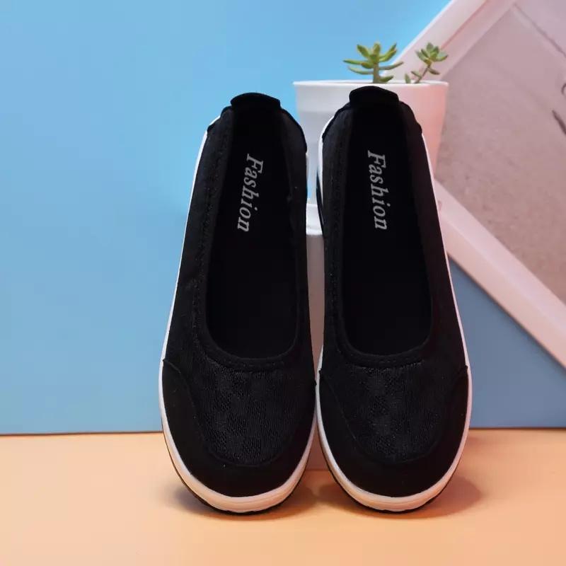 Detail produk dari Baru Fashion Wanita Kasual Sepatu Street Sepatu Manis  Flat Sepatu Boat fdc4087ee3