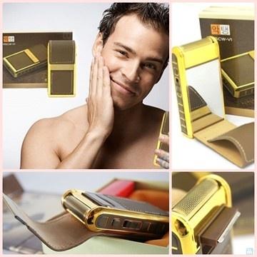 Deskripsi Produk Boteng Shaver Alat Cukur Kumis Dan Jenggot praktis ini dilengkapi dengan pelindung berwarna cokelat yang terbuat dari bahan kulit.