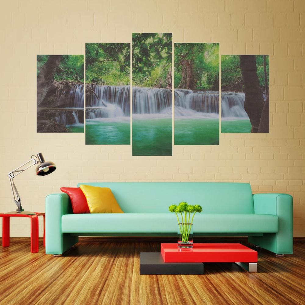 Hnk Lap Tangan Cendol Microfiber Hand Towel Chenille Source 5 Buah Air Terjun Lukisan Kanvas Pemandangan