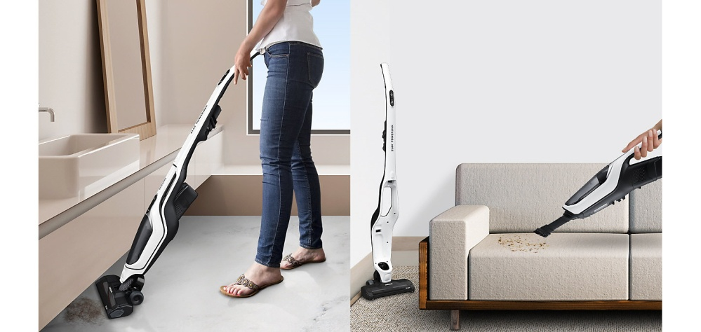 2-in-1 Flexible Cleaning
