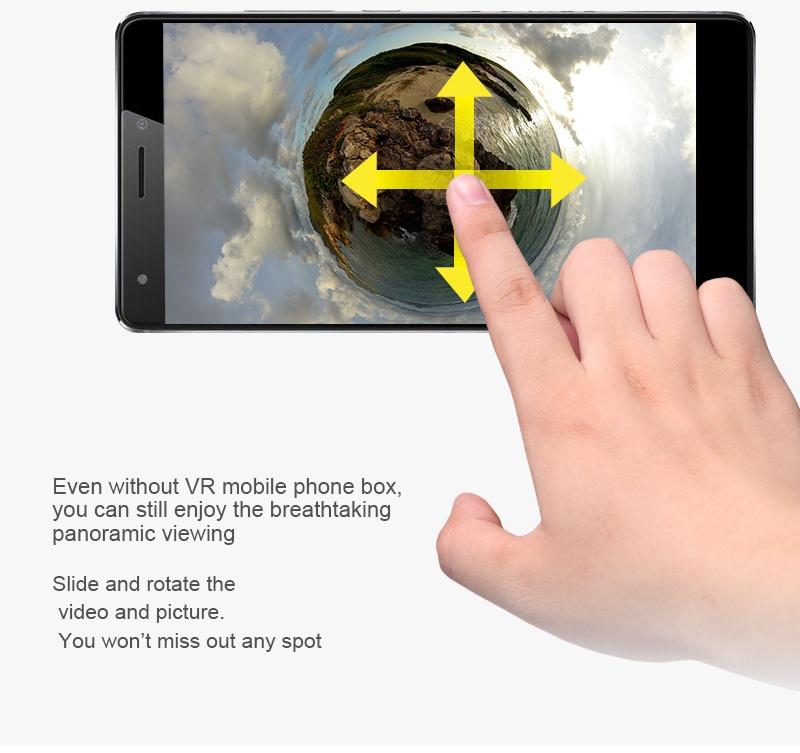 Lcose 360 Degree VR Panoramic Fisheye 1080P Video Camera Micro +Type C for Samsung Xiaomi Huawei