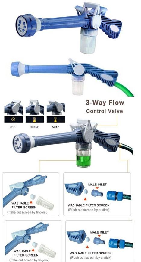 Sagadiju Paket Berkebun Magic Hose Selang 22m Ez Water Cannon Source SAGADIJU PAKET .