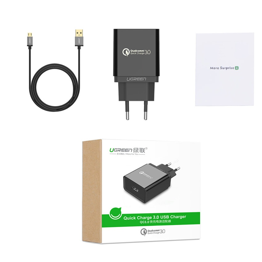 Charger ugreen qualcomm 3.0 .