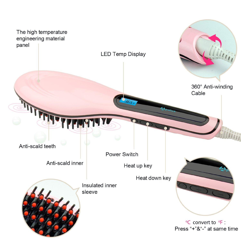 Periksa Peringkat Fast Hair Straightener Catok Sisir Pelurus Rambut Razor Di Japan Image