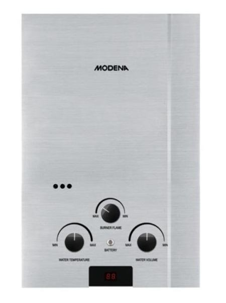 Modena Gas Water Heater GI 6 V - Putih | Lazada Indonesia