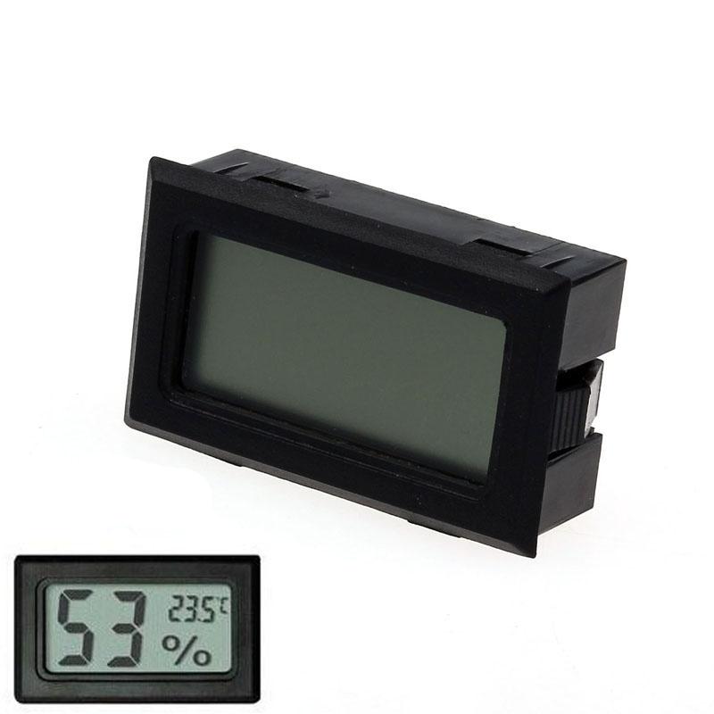 Deskripsi Produk Mini Digital LCD Pengukur Kelembaban Suhu Termometer Hygrometer Indoor ...