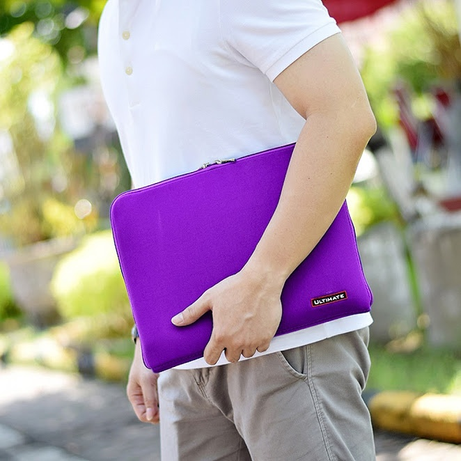 Ultimate Tas Bag Cover Softcase Backpack Laptop Pria