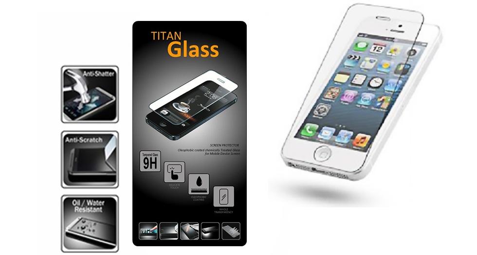 TITAN Premium Tempered Glass sangat tipis hanya 0.3mm dibandingkan dengan tempered glass lainnya.