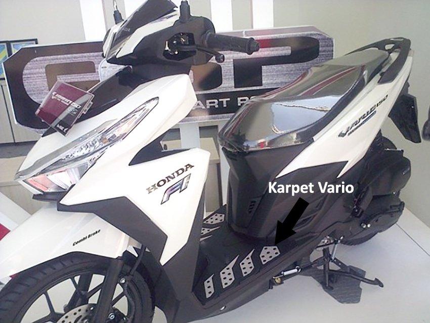 Virgo Racing Karpet Vario 125 atau Karpet Vario 150