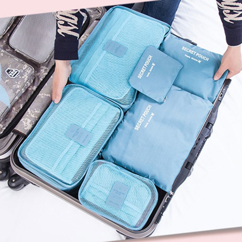... Termurah New Arrival 6 In 1 Travel Storage Organizer Bags Set Source image