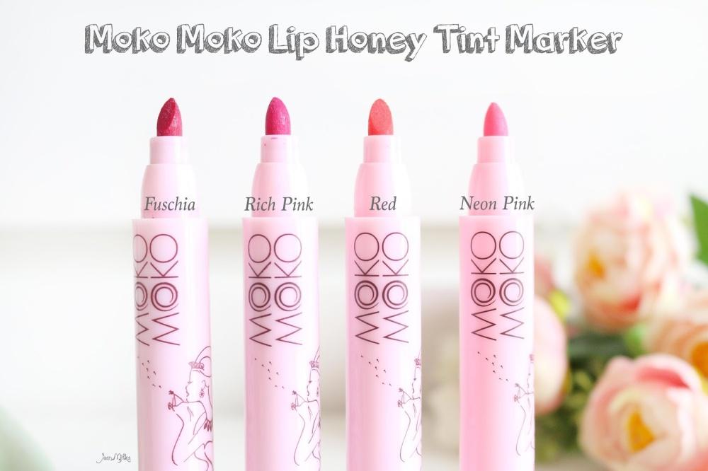 Moko Moko Lip Honey Tint Marker Lip Tint Bibir Rich Pink