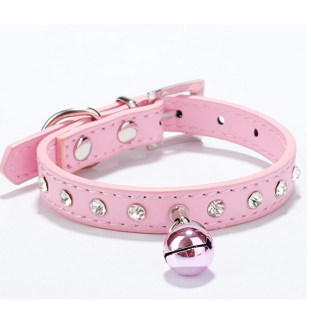 ... Bell Berwarna Merah Muda ... Source · Harga Penawaran New Pet Diamante PU kulit anjing kucing kerah rebah Source · Bahan Kulit PU