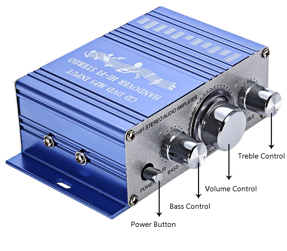 Eshop Checker Mini 2ch Hi Fi Stereo Output Power Amplifier Blue 10w Audio Interface 35mm Source Electronic Products With Usb Port Color Total 20w Max Rms Freq 20hz 20khz Input Dc12v 5a