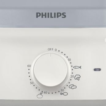 Philips Daily Collection HD9104/00 Steamer - Putih