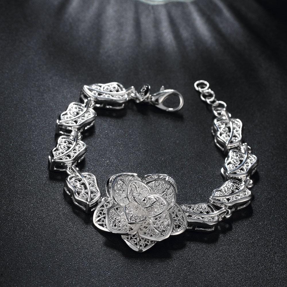 La Vie Ceng Perak Bunga Desain Gelang (Perak) ada di Watches Sunglasses Jewellery >