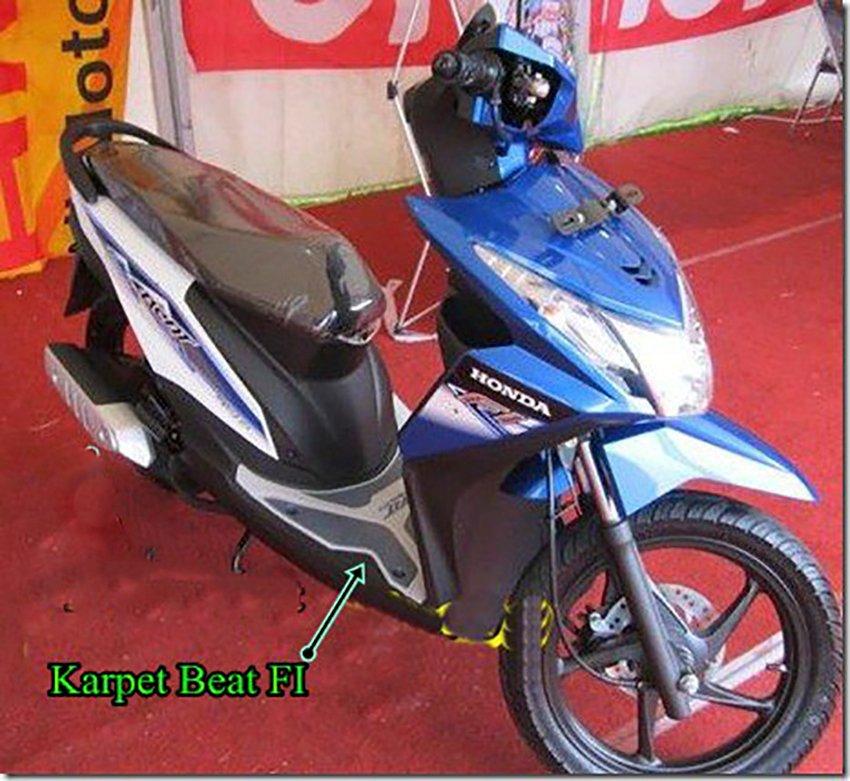 Beli Sekarang Virgo Racing Karpet Motor Beat Sporty Esp