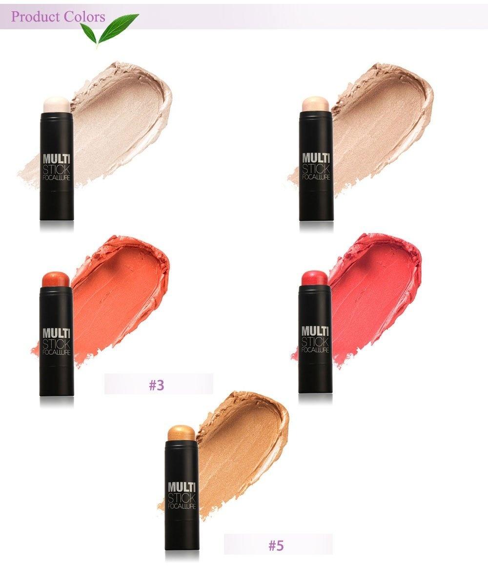 FOCALLURE Professional Cosmetic Makeup Highlighting Concealer Stick Blush Cream