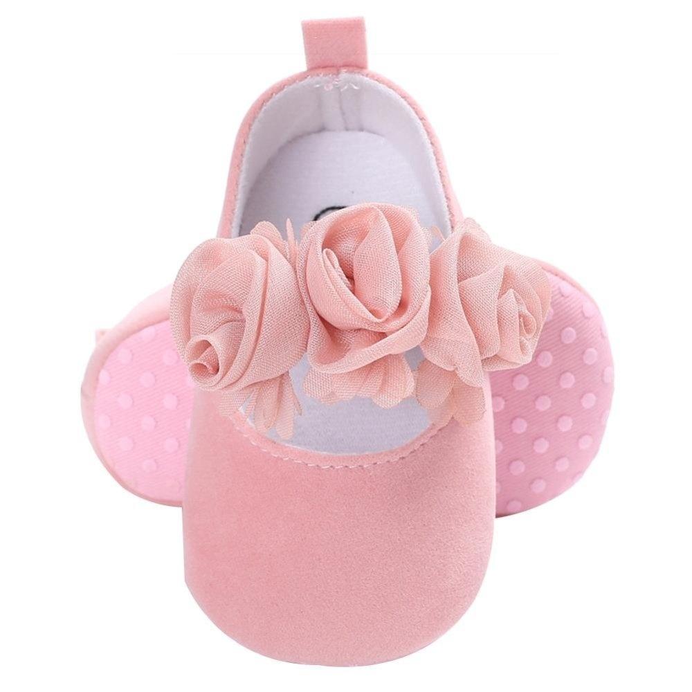 Harga preferensial Sepatu Bayi Berpita Gadis Balita Prewalker Anti ... e26fa80f8d