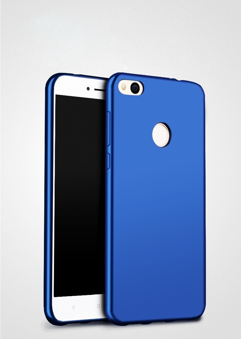 For Redmi 4X Soft Silicone Phone Case/ Sweatproof Fingerprint-proofProtective Back Cover for Xiaomi ...