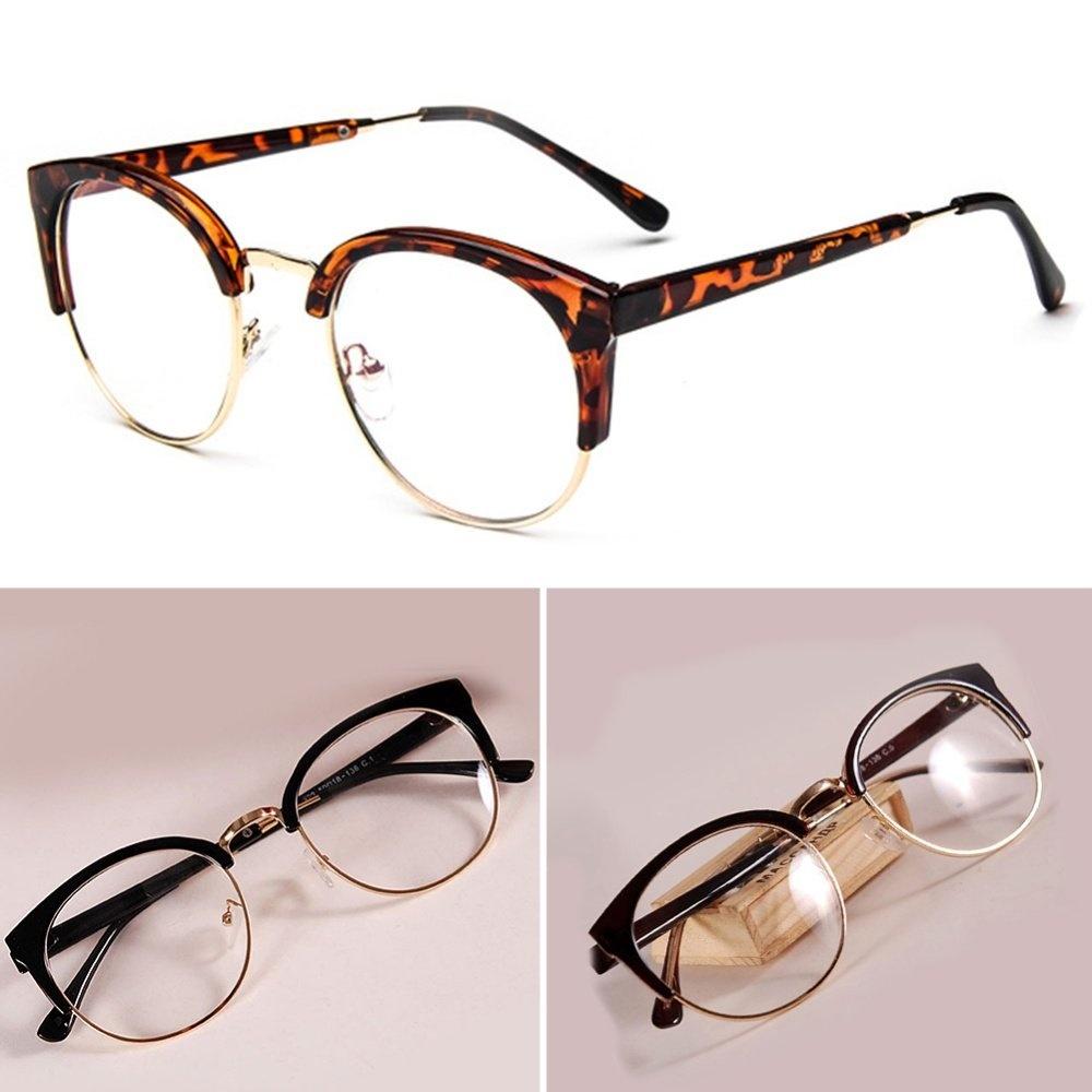 Package Included  1 Pair Of Plain Glass Spectacles(Lenses Included).  Spesifikasi dari 6009e99e77