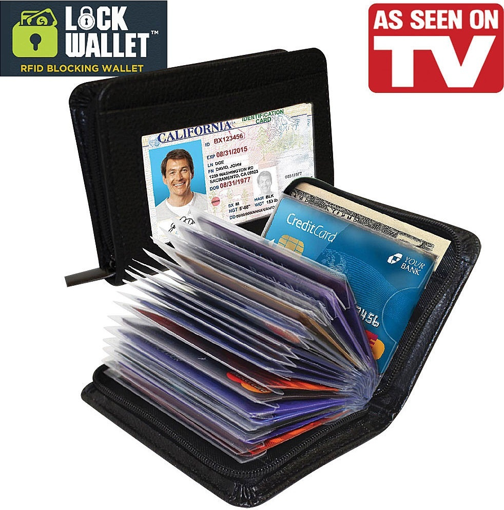 Damura Aluma Card Guard Aluminium Wallet Dompet Penyimpanan Kartu Source · Dompet ini melindungi data data kartu kredit Anda dari pencurian melalui sinyal ...