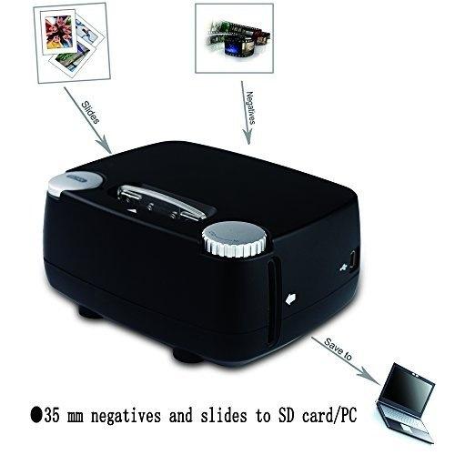 Rybozen Digital negative/postive film scanner with 1800/3600DPI high resolution USB 35mm 135