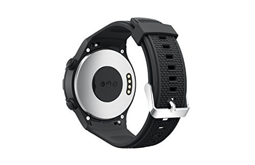 Huawei Watch 2 Band, Enow Soft Silicone Replacement Sports Strap for Huawei Watch 2 Sports Model Smartwatch, Black