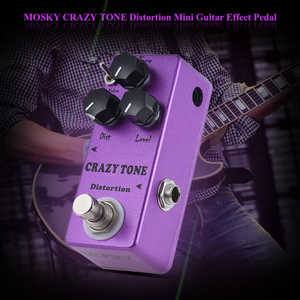 Features: RIOT Distortion Pedal, it brings you from classic crunch into high-gain
