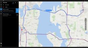 Mudahnya melihat rute ke tujuan pengguna dengan aplikasi Maps